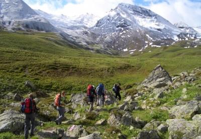 Alpenüberquerung auf alten Schmugglerpfaden