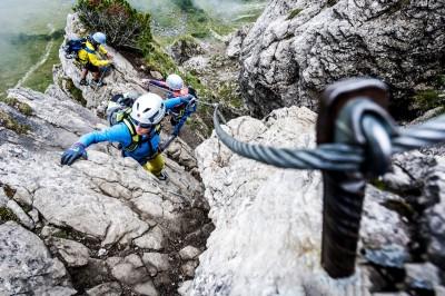 Klettersteige Kleinwalsertal