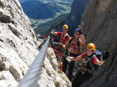 Dolomiten Klettersteigwoche