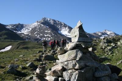 PRIVAT Alpenüberquerung Ötzi mit Gepäcktransport