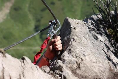 Walser Klettersteig Storno COVID 19
