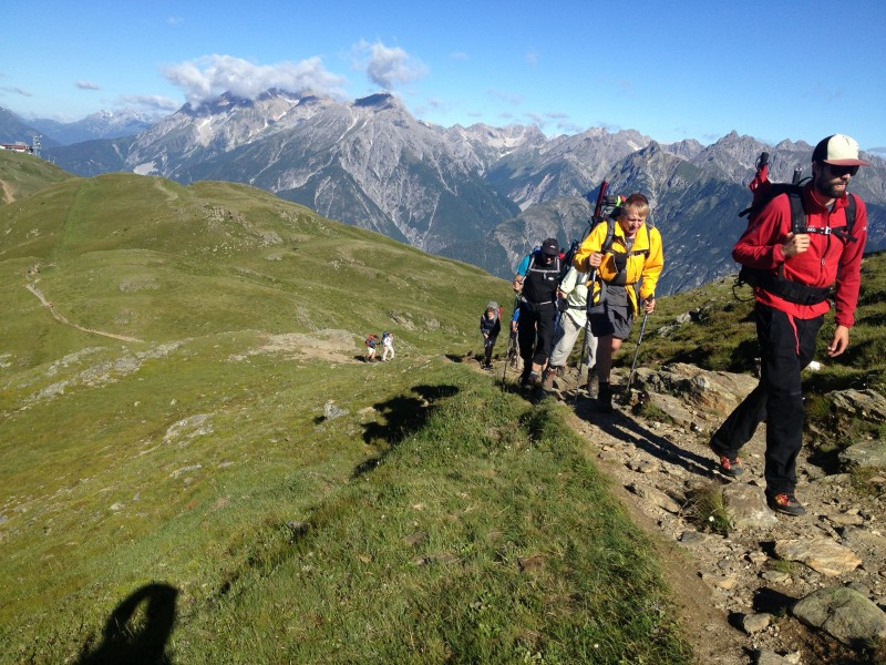 Alpenkammüberquerung
