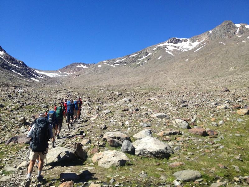E5 Alpenüberquerung mit Similaun