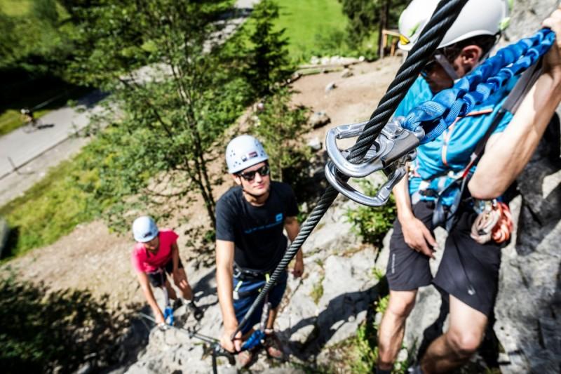 Sicherungstechnik im Klettergarten