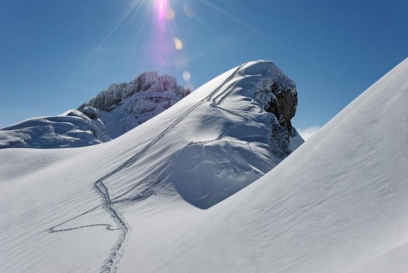 Winterwandern rund um das Kleinwalsertal.