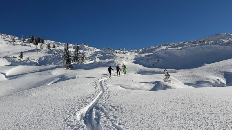 Genussvolle Skitourentage Kleinwalsertal