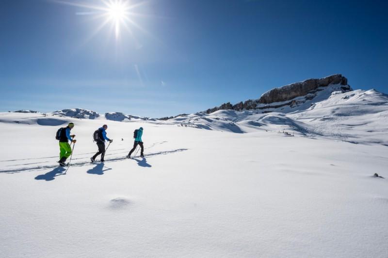 Genussvolle Schneeschuhtouren im Kleinwalsertal