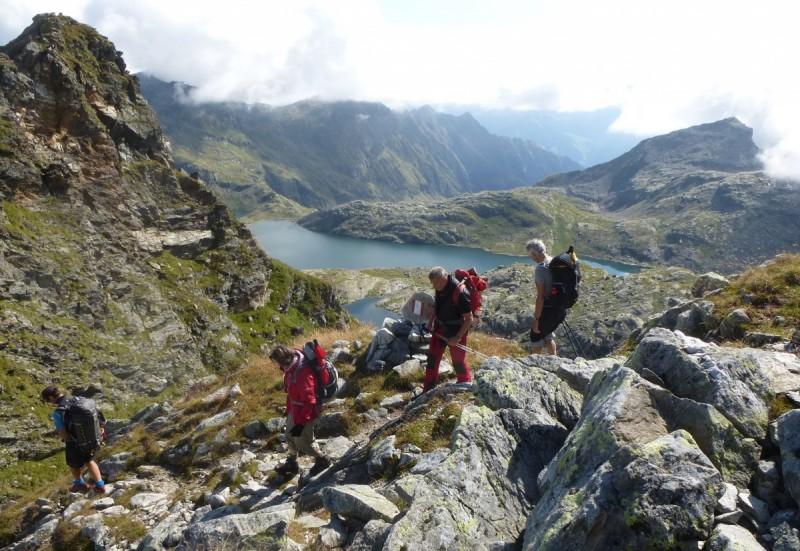 Alpenüberquerung von Innsbruck nach Meran